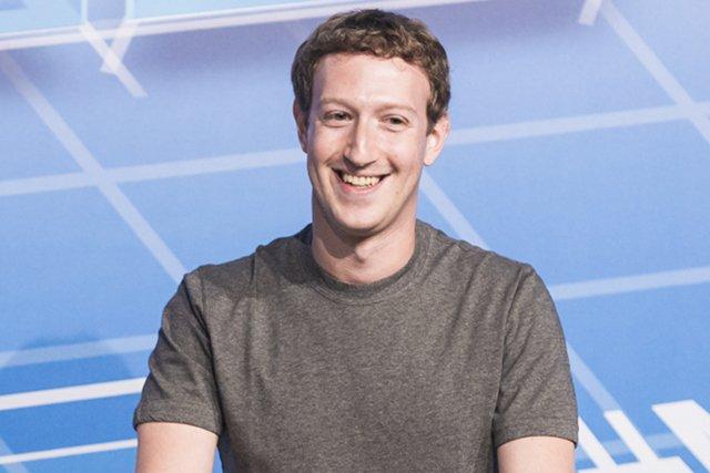 Mark Zuckerberg w swoim ulubionym stroju.