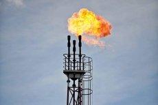 Świeca do spalania gazu z ropy naftowej
