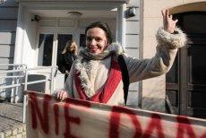 Klaudia Jachira zamierza w swoim biurze poselskim zorganizować hotelik dla przyjeżdżający do Warszawy obrońców demokracji.