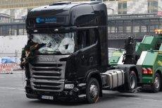 Właściciel ciężarówki użytej w zamachu walczy o wypłatę odszkodowania z ubezpieczenia. Co gorsza firmie grozi kara za towar, który leżał na naczepie.
