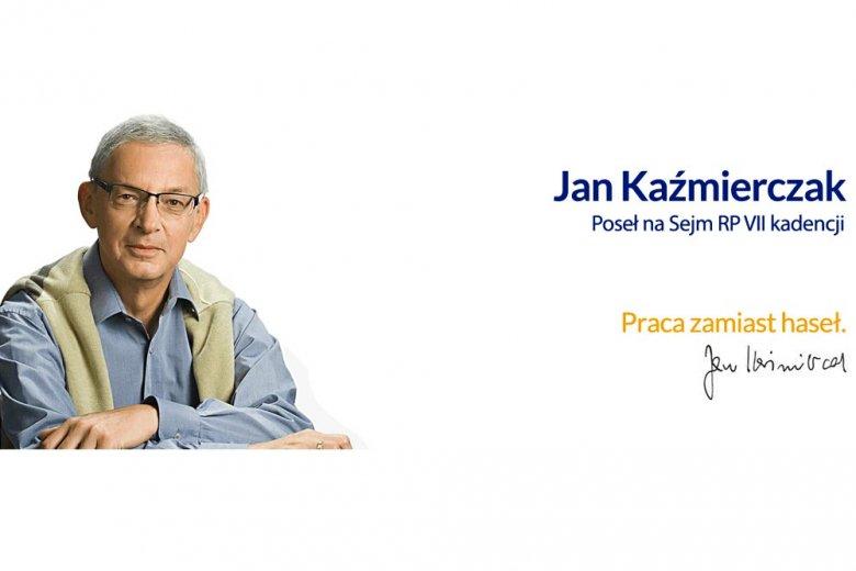 Poseł Jan Kaźmierczak