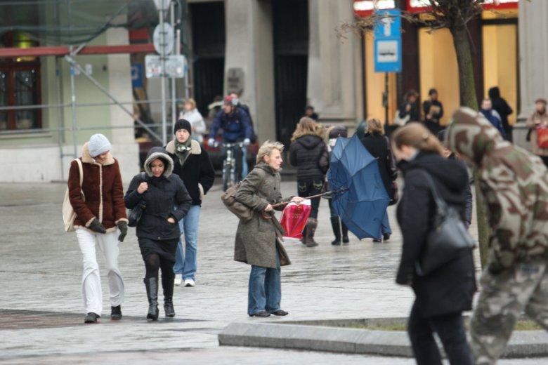 W Nowy Rok w Polsce będzie ostro wiało