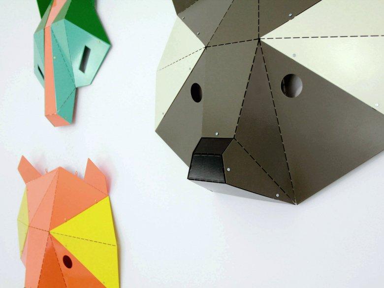 Kosmos Project, Maski