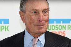 Michael Bloomberg to jeden z najbogatszych ludzi na świecie