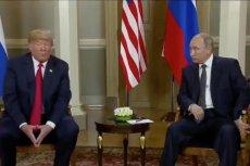 Spotkanie Donalda Trumpa z Władimirem Putinem w Helsinkach rozpoczęło się z godzinnym opóźnieniem.