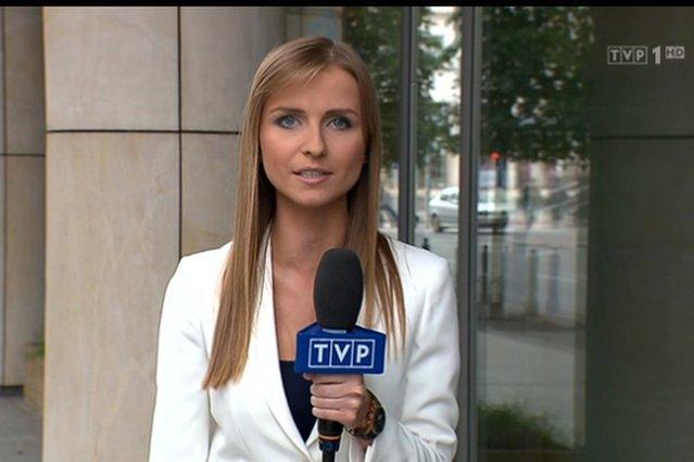 """Ewa Bugała wraca do """"Wiadomości"""" TVP."""