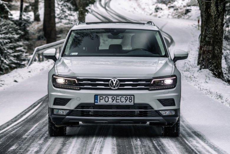 Kierowca w Allspace ma do wyboru kilak trybów jazdy. Także ten dedykowany na śnieg.