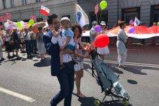 Patryk Jaki - kandydat PiS na prezydenta Warszawy - uczestniczył w Marszu Dla Życia i Rodziny