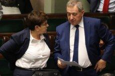 """Minister Henryk Kowalczyk w ekipie """"dobrej zmiany"""" odpowiada za gospodarkę."""