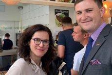 Aleksandra Dulkiewicz wrzuciła zdjęcie z obiadu na mieście.