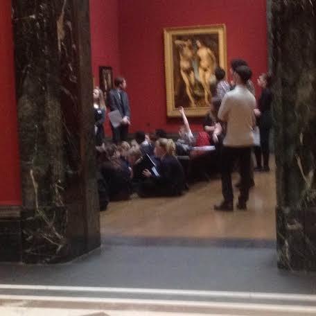 zajęcia dla dzieci w National Gallery
