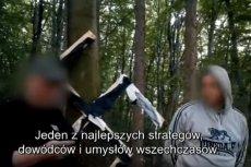 """Najbardziej uderzającą sceną reportażu """"Polscy neonaziści"""" były urodziny Adolfa Hitlera."""