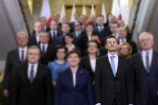 Kto pozostanie ministrem w rządzie Mateusza Morawieckiego?