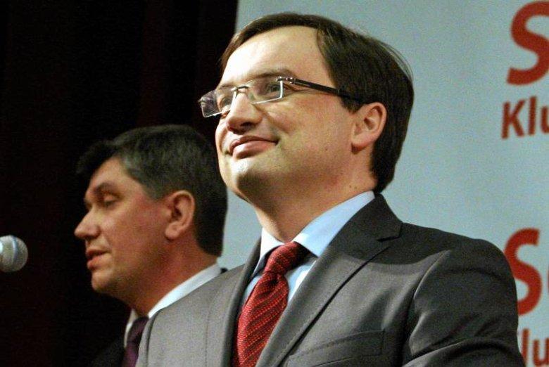Zbigniew Ziobro na spotkaniu ze zwolennikami Solidarnej Polski w Lublinie