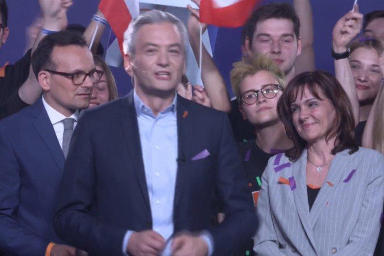 Wiosna Roberta Biedronia jest trzecią partią, która wchodzi do PE.