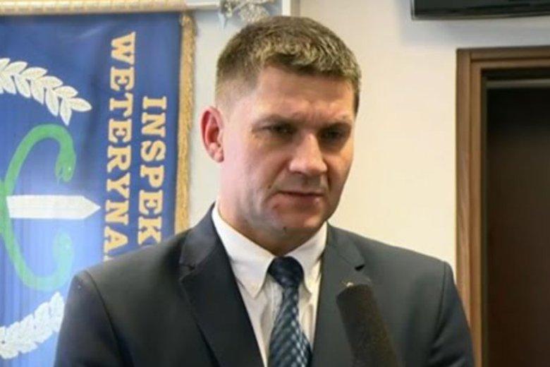Paweł Niemczuk jest Głównym Lekarzem Weterynarii