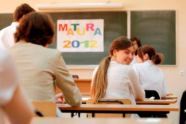 Maturzyści z liceum ogólnokształcącego w Rzeszowie