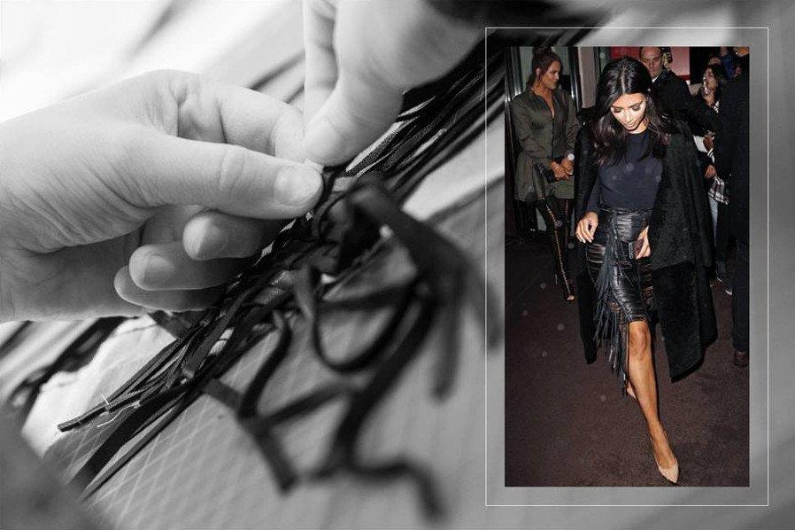 Słynna spódnica Magdy Butrym, którą pokochała Kim Kardashian.