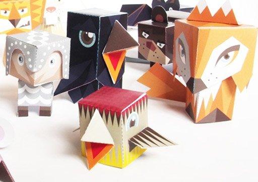 Fold Me, Papierowe zabawki