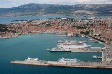 Port w Splicie, gdzie wypoczywali byli dyrektorzy regionalni Elewarru Krzysztof B. i Jerzy G.