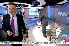 Jakub Stefaniak pisze, że od prawie dwóch lat nie udzielał wywiadów TVP. Teraz reporter Telewizji Polskiej zadał mu parę pytań - ale wywiad raczej nie zostanie wyemitowany.