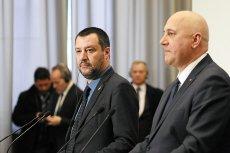 Prorosyjski wicepremier Matteo Salvini uchodzi za sojusznika PiS na arenie europejskiej.