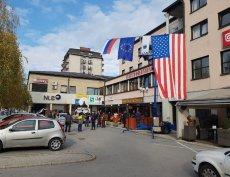 Sevnica, rodzinne miasto Melanii Trump w Słowenii.