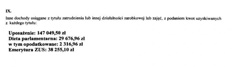 Oto, ile zarabia Jarosław Kaczyński.