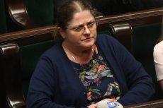 Krystyna Pawłowicz skarży się, że dostaje groźby.