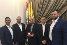 Poseł Paweł Skutecki z Kukiz 15' spotkał się liderem Hezbollahu w Libanie.
