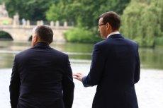 Podczas wspólnej konferencji premierów Węgier i Polski pytania mogli zadawać tylko dziennikarze związani z obozem dobrej zmiany.