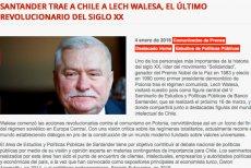 Cenckiewicz poinformował,że w dniu debaty w IPN Wałęsa ma zaplanowaną wizytę w Chille.