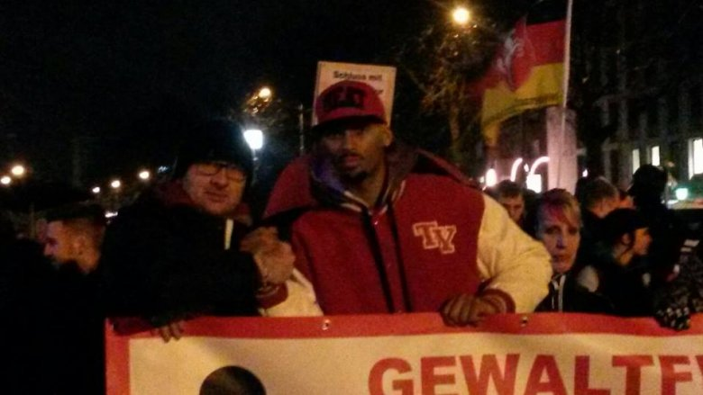 Rasistowska demonstracja w Kassel?