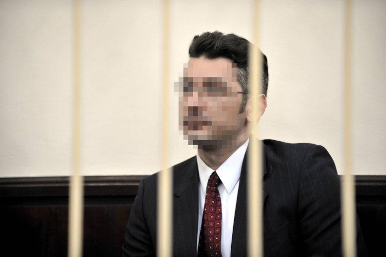 Jedno ze zdjęć podczas rozprawy sądowej.