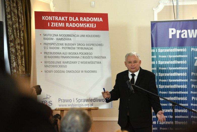 Przedwyborcze obietnice PiS dla Radomia.