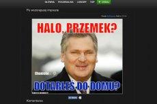 Internet już śmieje się z incydentu z udziałem posła Przemysława Wiplera.