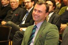 W pierwszej turze wyborów prezydenckich Norbert Hofer uzyskał ponad 35 procent głosów.