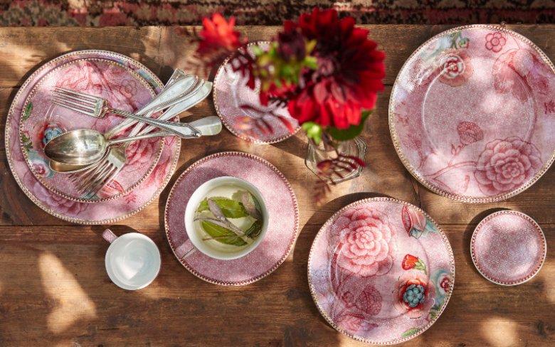 Komplet 2 filiżanek porcelanowych Spring to Life Pink 280 ml, 116 zł