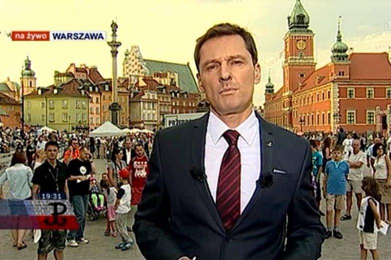 Krzysztof Ziemiec w TVP 1
