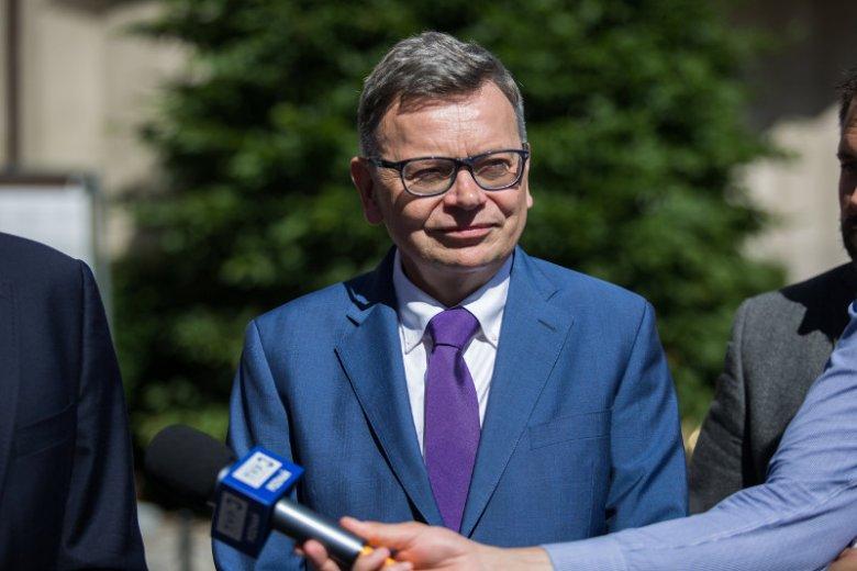 Tadeusz Zyska, kandydat PiS na prezydenta Poznania, zmierzy się w wyborach z obecnym prezydentem Jackiem Jaśkowiakiem.