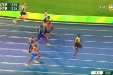 Usain Bolt zdeklasował konkurencjęw finale biegu na 200 metrów.