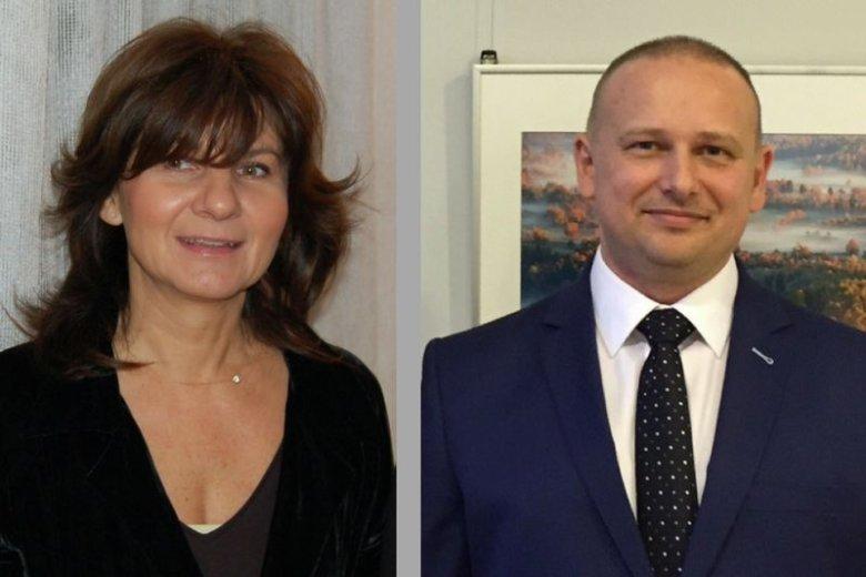 Prof. Joanna Szczepanowska i prof. Mariusz Więckowski z Instytut Nenckiego przedstawili na konferencji prasowej wyniki unikalnych w skali świata badań w obszarze mitochondriów