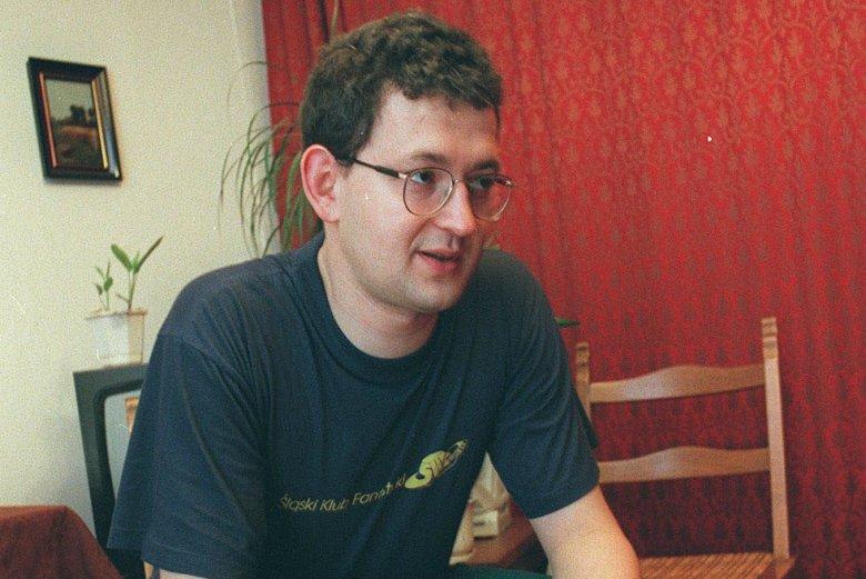Rafał Ziemkiewicz 20 lat temu.