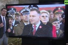 """""""Polska pisze historię na nowo"""" – taki przekaz płynie z """"Russia Today""""."""