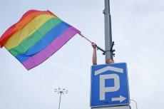 Przygotowania do Marszu Równości w Poznaniu.