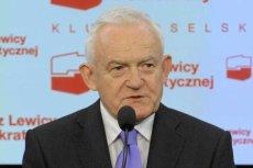 Leszek Miller, przewodniczący Sojuszu Lewicy Demokratycznej