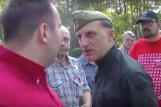 Olszański vel Jabłonowski uderzył Sławomira Wróbla w twarz na Powązkach.