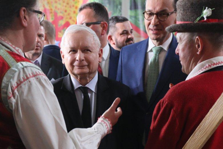 Prezes Jarosław Kaczyński spotkał się w sobotę z rolnikami na konwencji PiS w Kadzidle koło Ostrołęki.