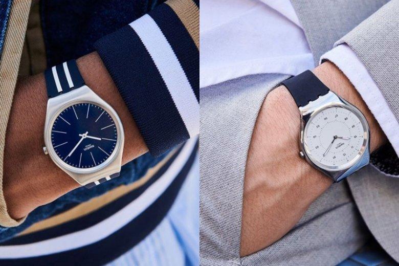 W ofercie marek takich jak Swatch znajdziecie zegarki zarówno w sportowym, jak i eleganckim stylu