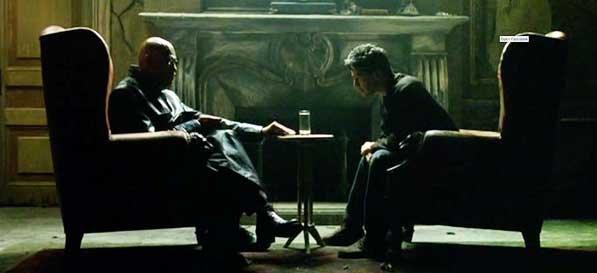 Próbuję uwolnić twój umysł, Neo. Ale mogę ci tylko wskazać drzwi. Ty sam musisz przez nie przejść.
